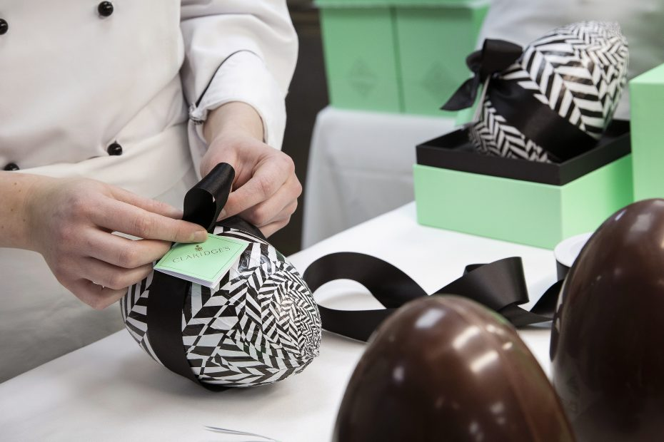 The Claridge's handcrafted Easter eggs are back