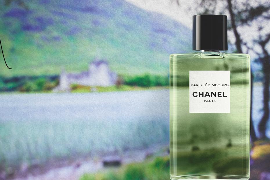 Les eaux de Chanel: PARIS-ÉDIMBOURG