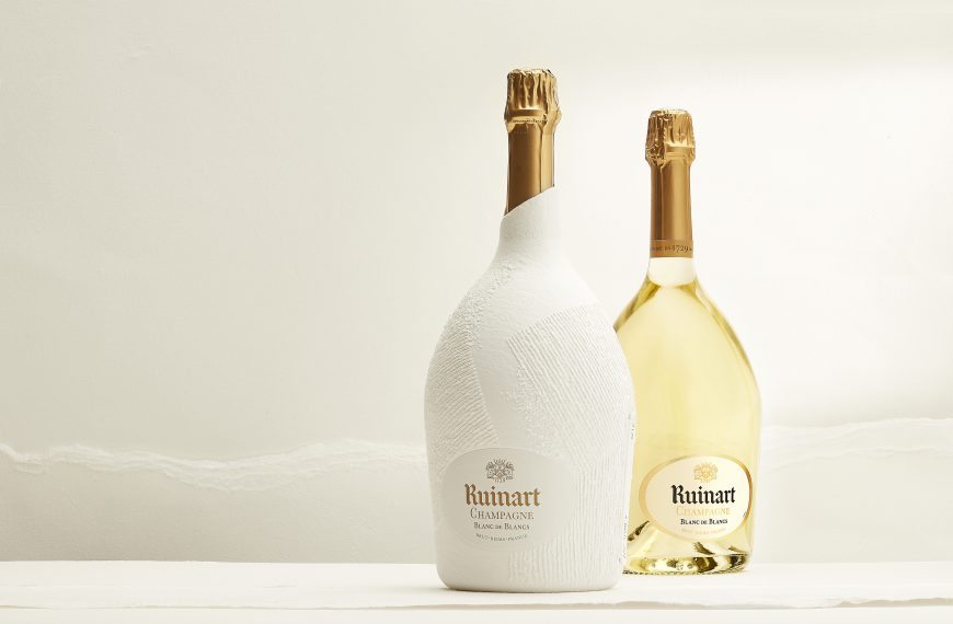 Ruinart: limited edition magnums by Antonin Anzil